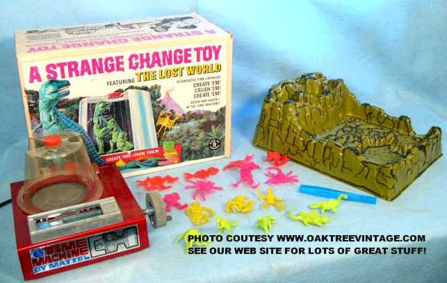 Strange Change Toy : Vintage games and toys from the s