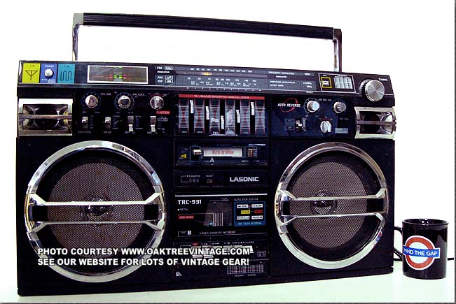 Lasonic trc 931 ghetto blaster original from japan not the cheap lasonic i931 - Lasonic ghetto blaster i931x ...