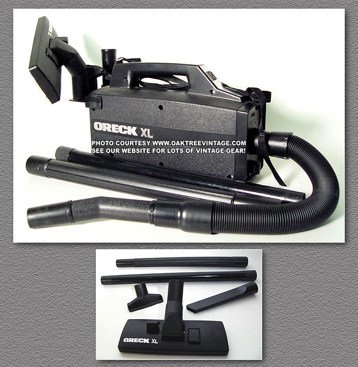 ORECK XL PORTABLE VACUUM CLEANER BB870 AD BLACK VERSION