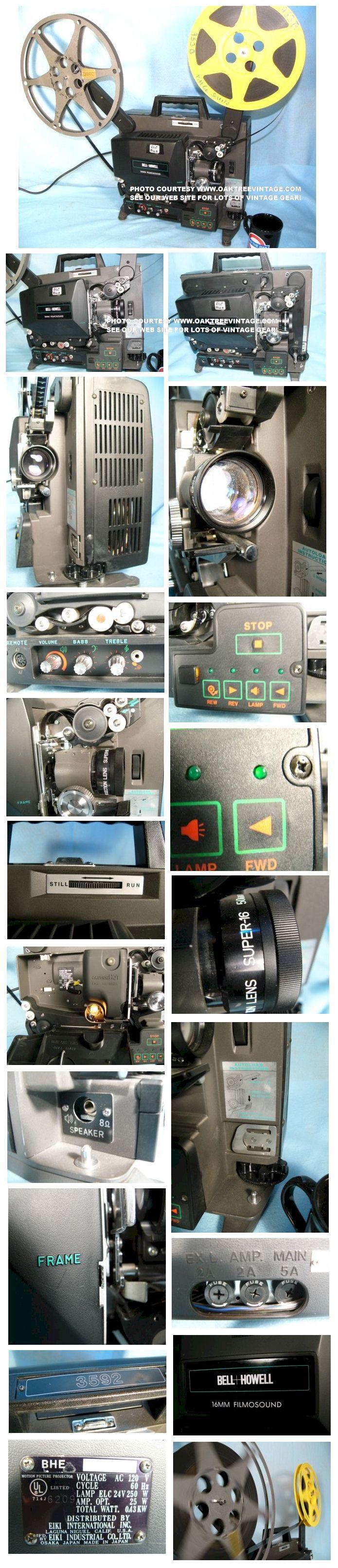 16mm Film Projectors - Archive Units