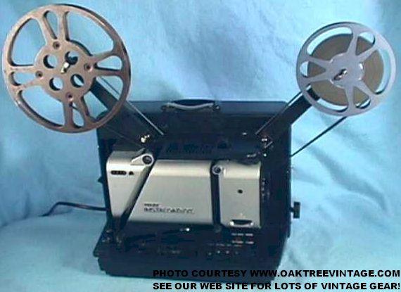 16mm film projectors archive units