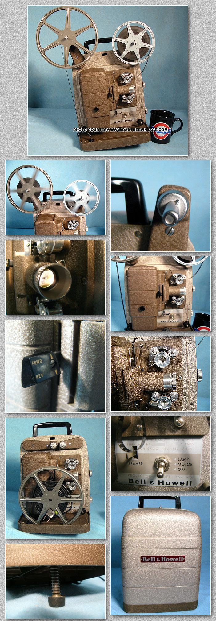 8mm Forum: Bell and Howell 254RS 8mm projector manual?