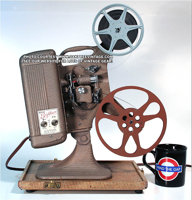 Movie projector super 8