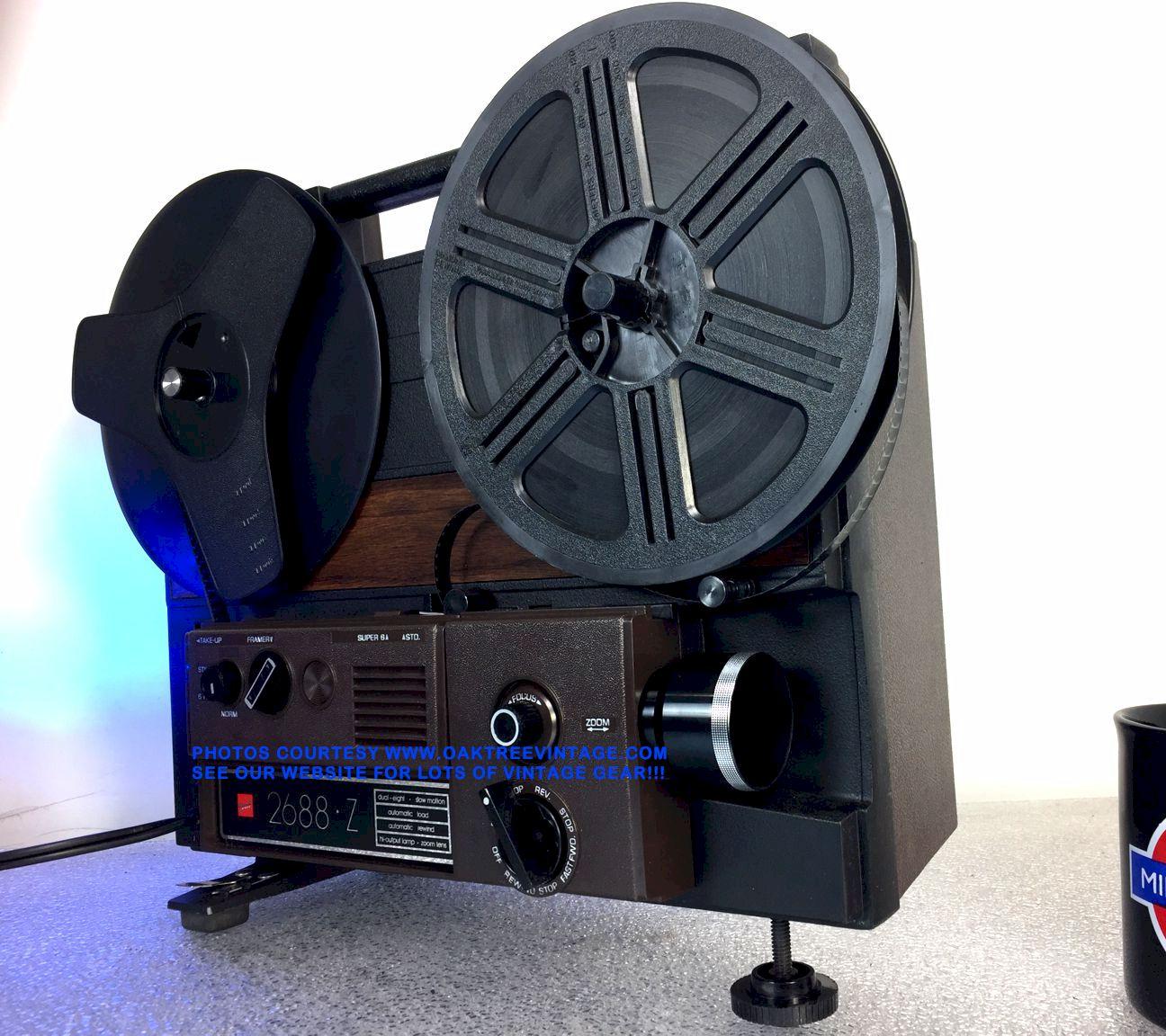 8mm & Super-8 Film projectors reel to reel film / movie