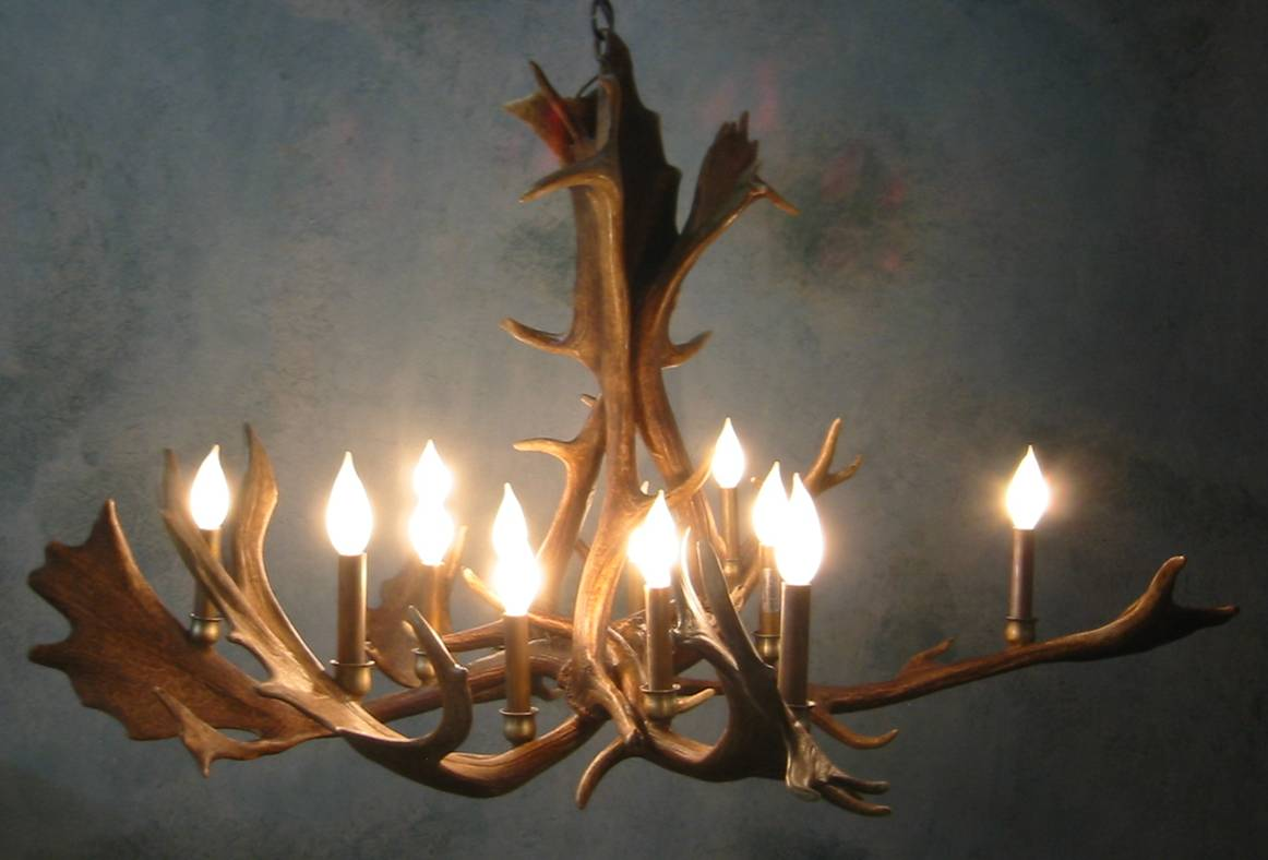 Antler chandeliers for sale real mccoy aloadofball Choice Image