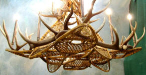 Antler Chandeliers Lamps and Lighting made in Colorado