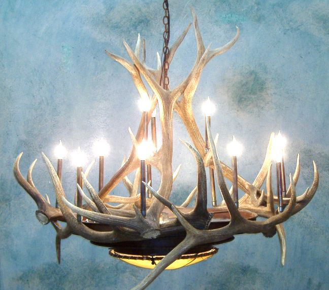 Antler Chandeliers For Sale  REAL MCCOY!