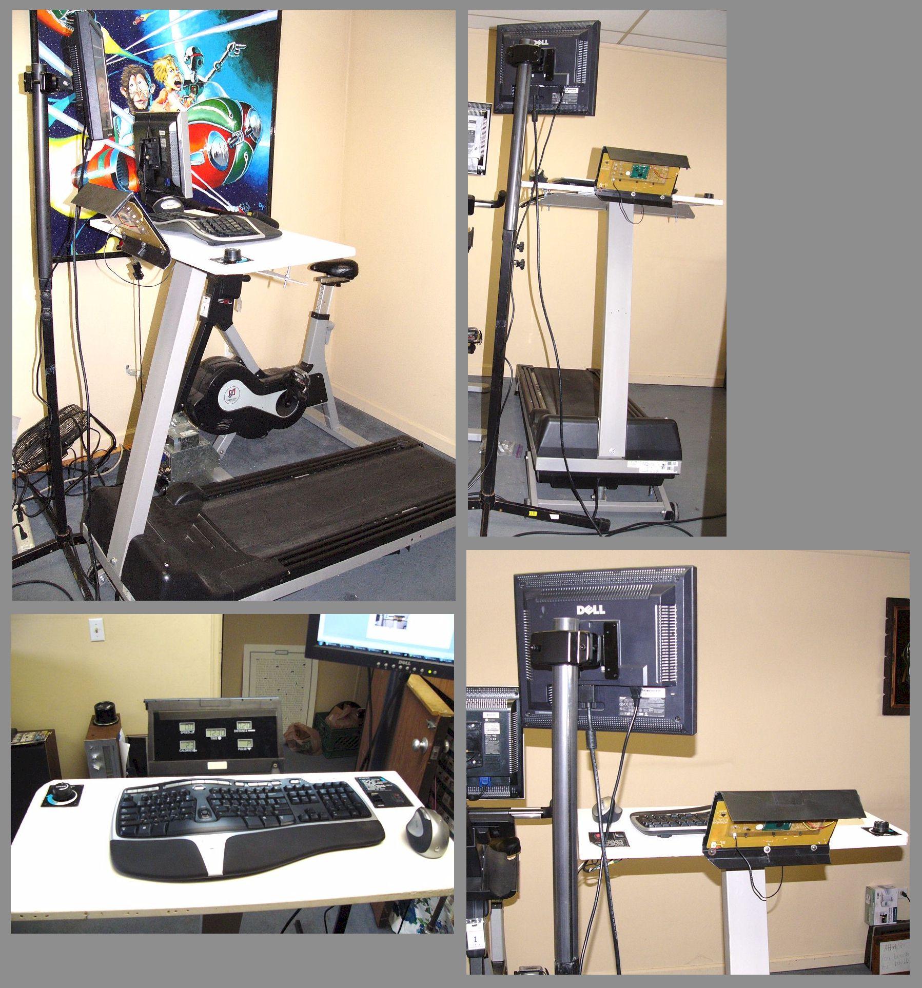 Treadmill Desk Cheap: DIY CHEAP TREADMILL DESK / HOW TO MAKE A CHEAP WALKING