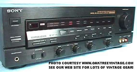 Sony Stereo Parts / Spares for Vintage Gear