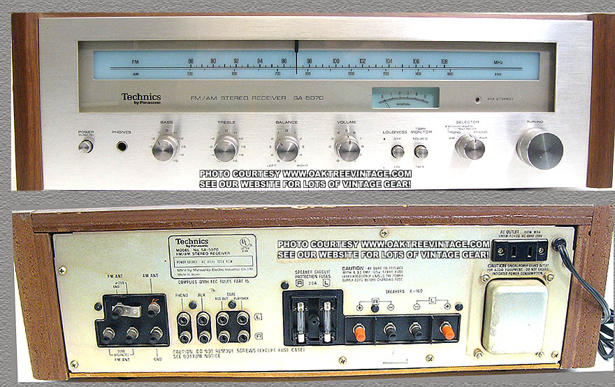 Technics Parts For Vintage Amp Used Audio Gear