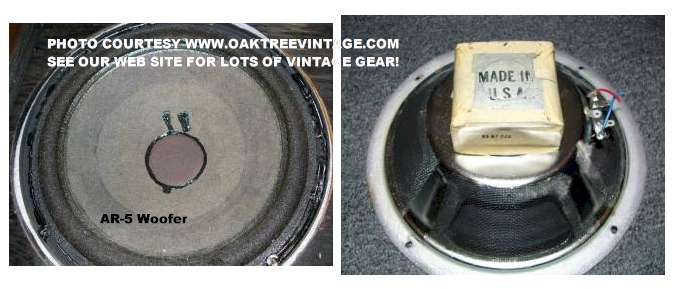 Used Cabinets For Sale >> AR / Acoustic-Research replacement speaker parts / spares ...