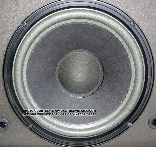 Bose_601 Series 3_Woofer_salvage replacement bose speaker parts & drivers  at aneh.co