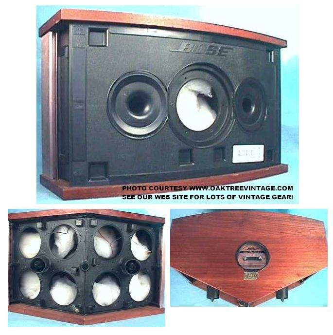 Bose_901_V_5_Cabinet_Speakers_Cabinets_collage replacement bose speaker parts & drivers bose 901 wiring diagram at crackthecode.co