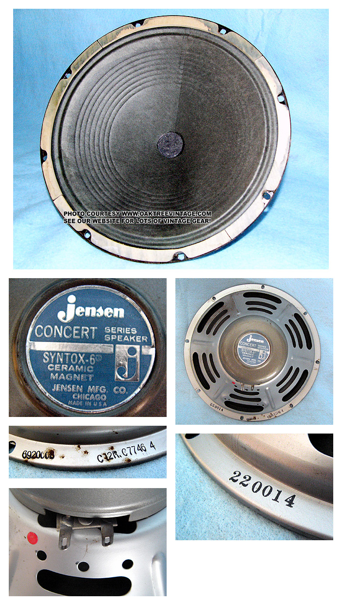dating vintage jensen speakers If your amp dosen't have a date code, flip the amp upside-down and check the transformers, and speakers for remember, many components could have been changed over the years, speakers blow, caps dry out 220, jensen, speakers.