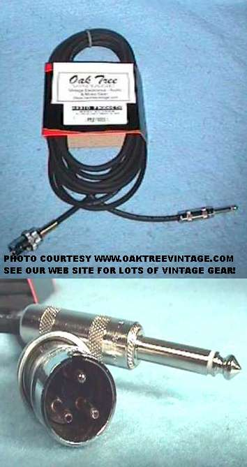 New Eletro-Voice LO-Z Cable for EV-664 Shure-545 /& Other Mics 4-Pin to XLR