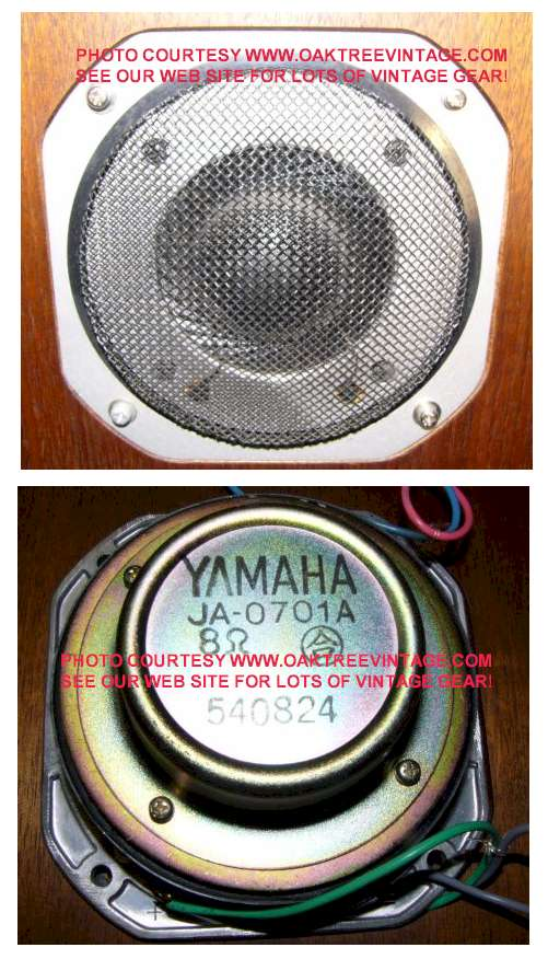 Yamaha Side By Side >> Yamaha Speaker Parts / Spares, Woofer, Mids, Tweets, Drivers.