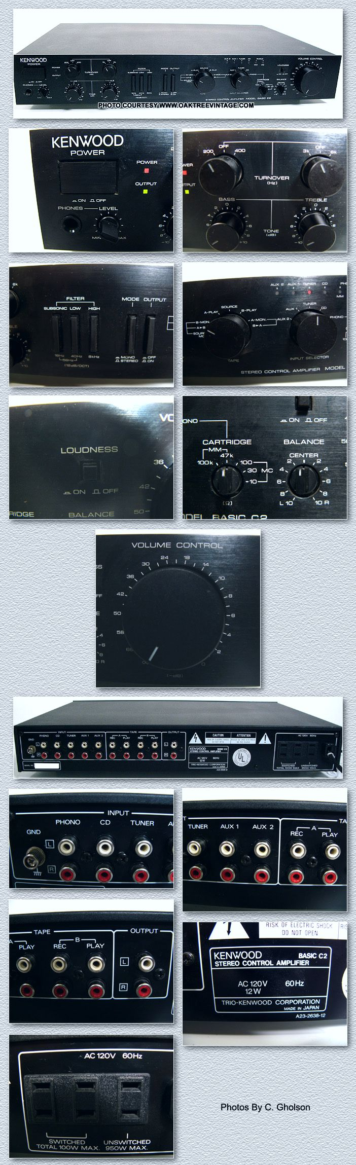 Vintage Stereo Amplifiers Pre Amps Restored Refurbished Fully 200 Watt Power Amplifier For Car By 2sc2922 2sa1216 New Listing 11 14 18 Click On Above Thumbnails To Enlarge Photos