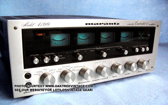 Vintage / Used Marantz Amps / Pre-Amps – Photo Gallery