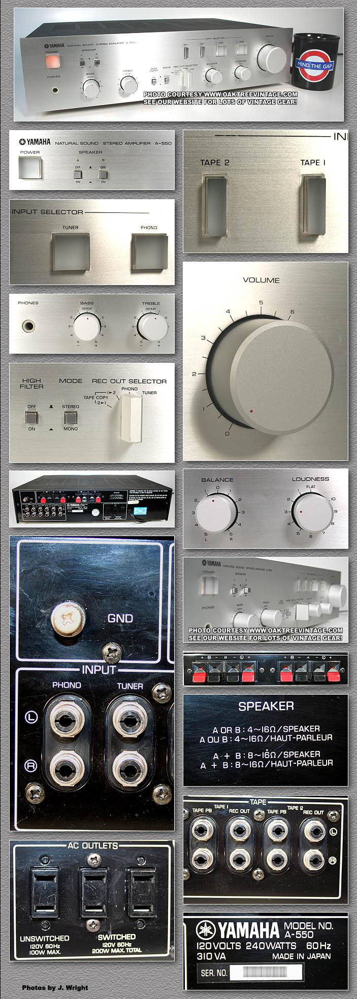 Yamaha Stereo Parts for Vintage Yamaha gear