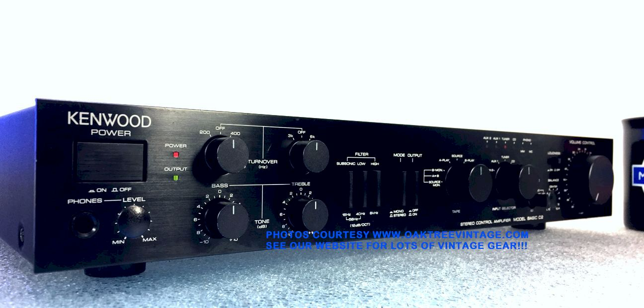 Vintage Stereo Amplifiers Pre Amps Restored Refurbished Fully 200 Watt Amplifier Power Circuit Diagram Electronic New Listing 11 14 18 Click On Above Thumbnails To Enlarge Photos