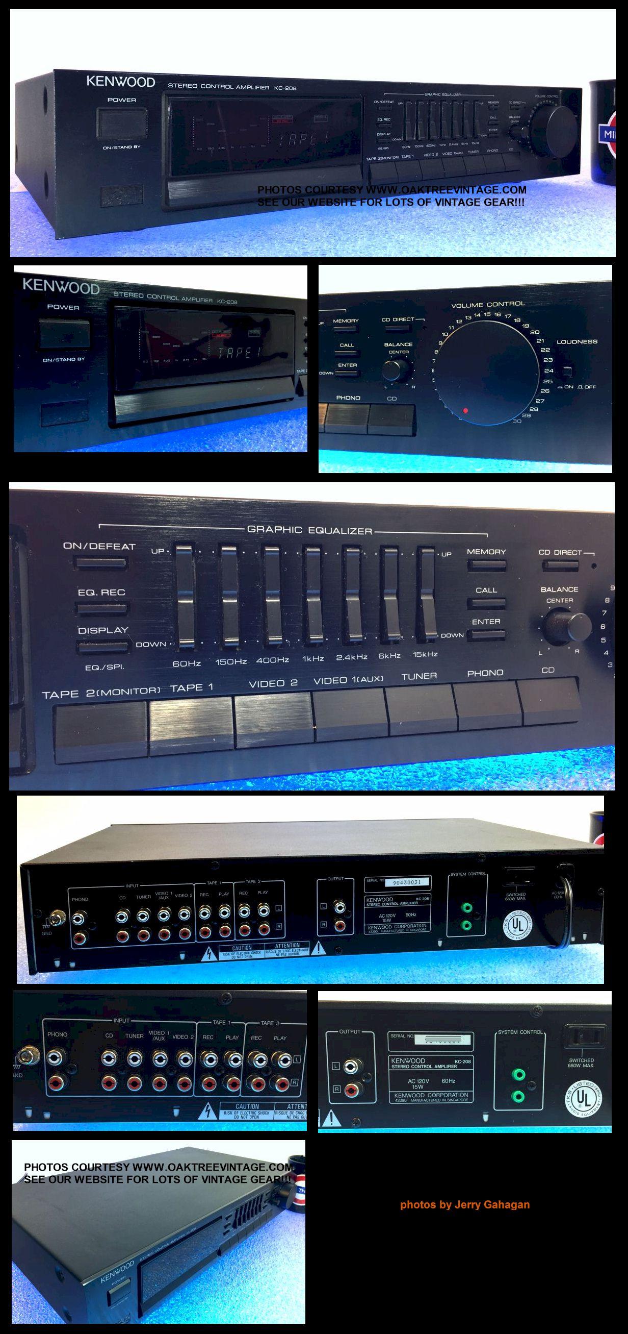 vintage stereo amplifiers & pre-amps restored / refurbished