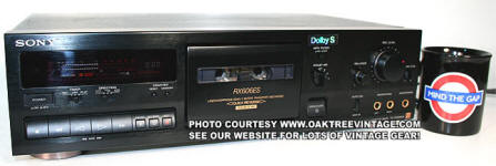 Sony TC-RX606ES Cassette Deck small jpg
