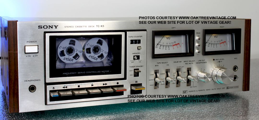 Sony Stereo Parts / Spares for Vintage Gear.