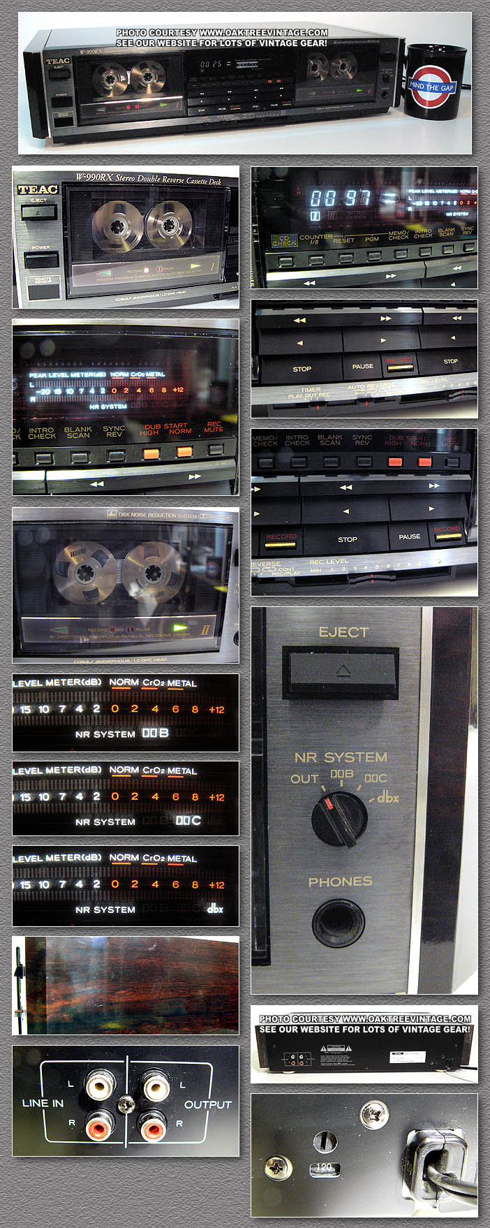 Vintage Teac Stereo Parts