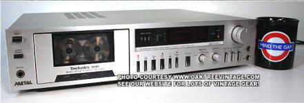 Technics RS-M45 Cassette Deck small jpg
