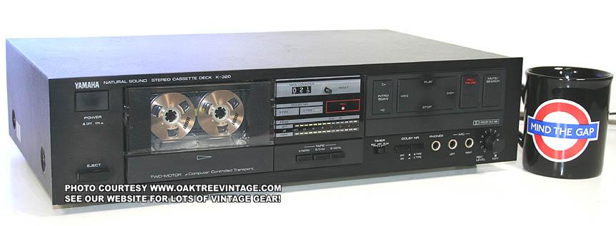 Vintage used stereo cassette tape decks for Balcony noise reduction