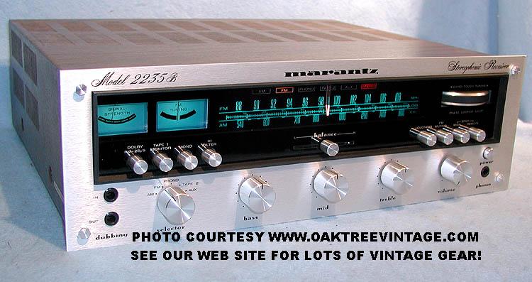 Vintage Marantz Stereo Receivers – Photo Gallery
