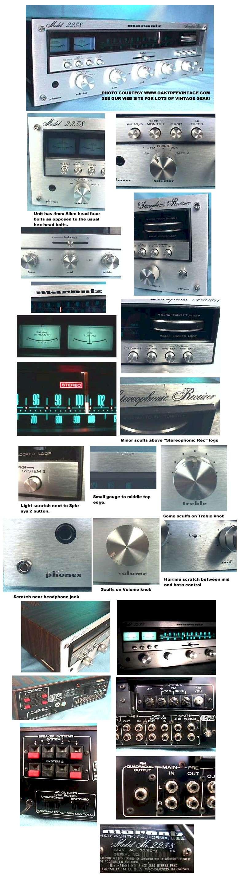 Marantz Vintage Stereo Parts Spares Circuit Board Buy Receiver Boardfm 2238 Bm Web 41835 Bytes Collage 267790