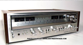 Vintage Pioneer SX Series Stereo Receivers – Photo Gallery