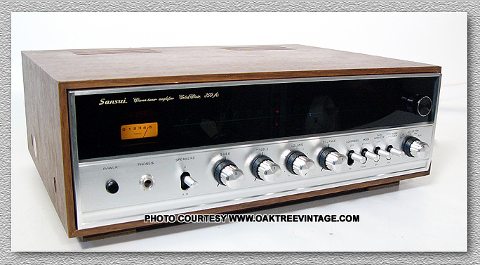 Vintage Sansui stereo parts & spares