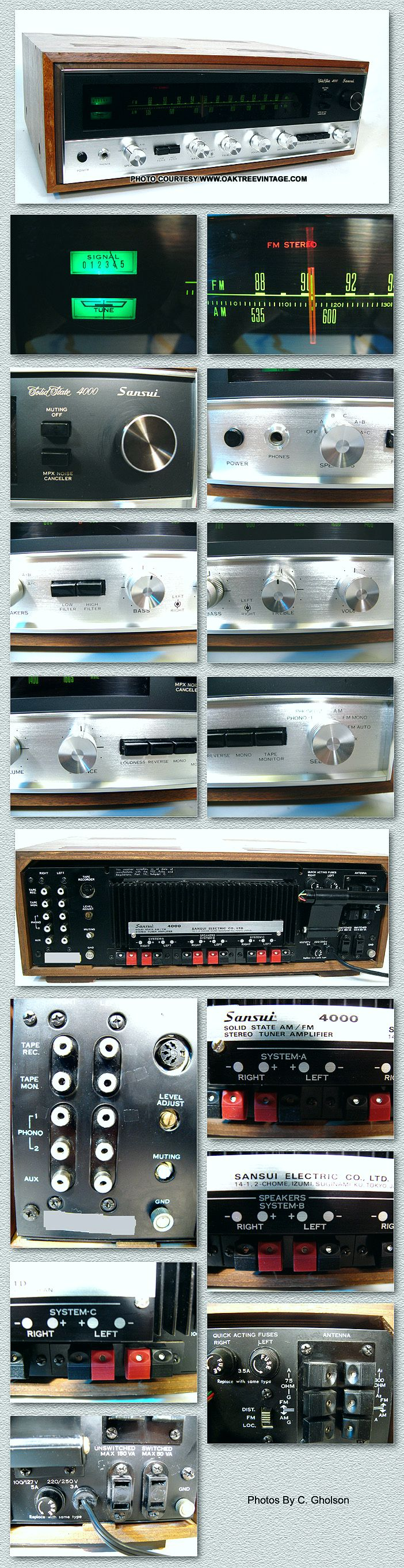 Vintage Sansui Stereo Parts Spares Circuit Board Buy Receiver Boardfm New Listing 4 16