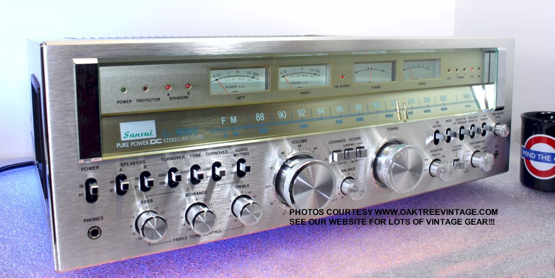 Vintage And Classic Stereo Receivers Refurbished Old