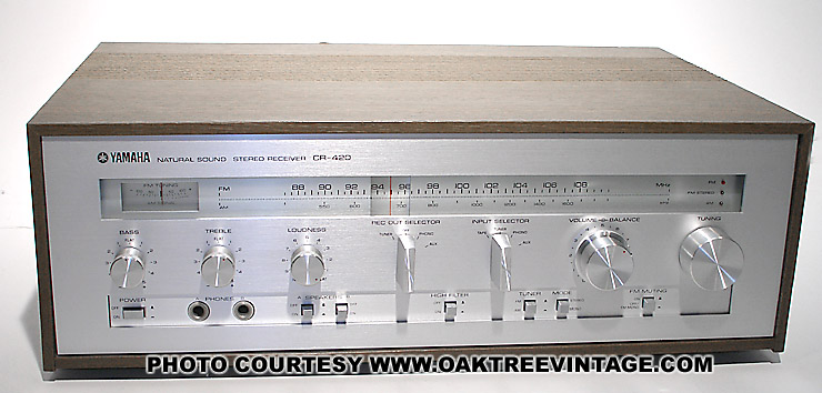 vintage yamaha home stereo receivers photo reference gallery rh oaktreevintage com Yamaha CR 820 Review yamaha cr-820 service manual