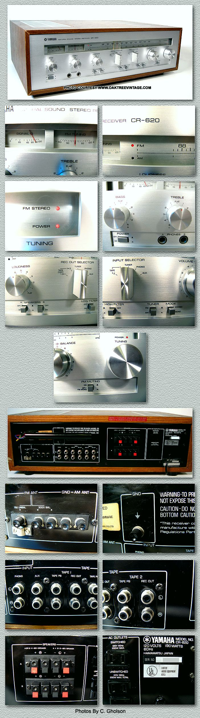 Yamaha Stereo Parts for Vintage Yamaha gear