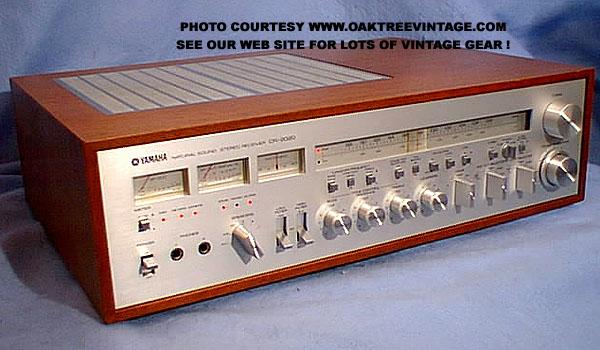 Yamaha Vintage Receiver 47