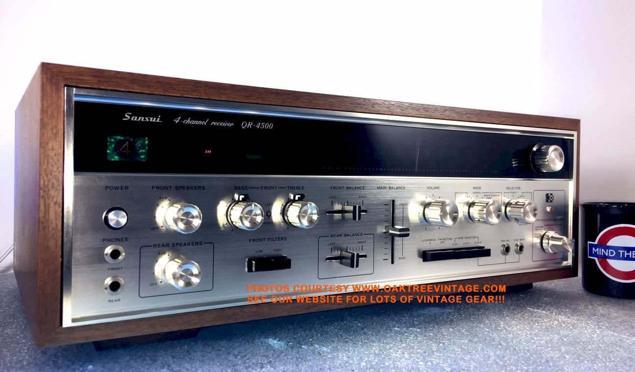 Vintage and Classic Stereo Receivers for sale  RESTORED