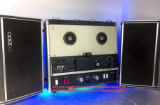 Genuine FOSTEX E2 Reel Tape Tension Roller Guide with Bearing /& Cap Parts Repair