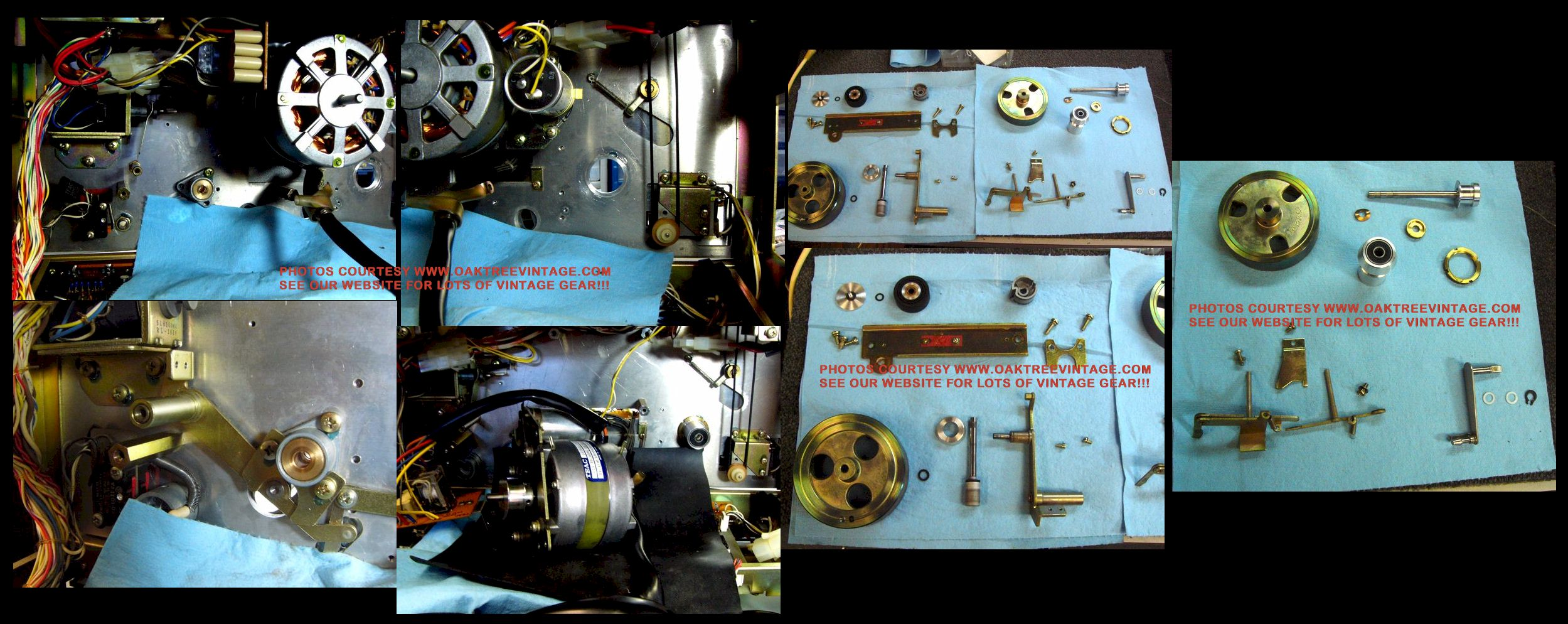 Reel To Reel Tape Recorders / Decks… Ready to GO! RESTORED