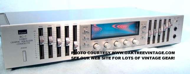 Sansui RG-7 Equalizer display? | Audiokarma Home Audio