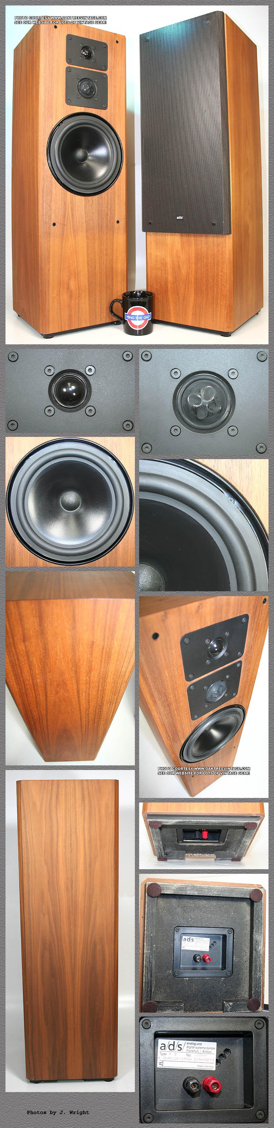 Ads speaker parts