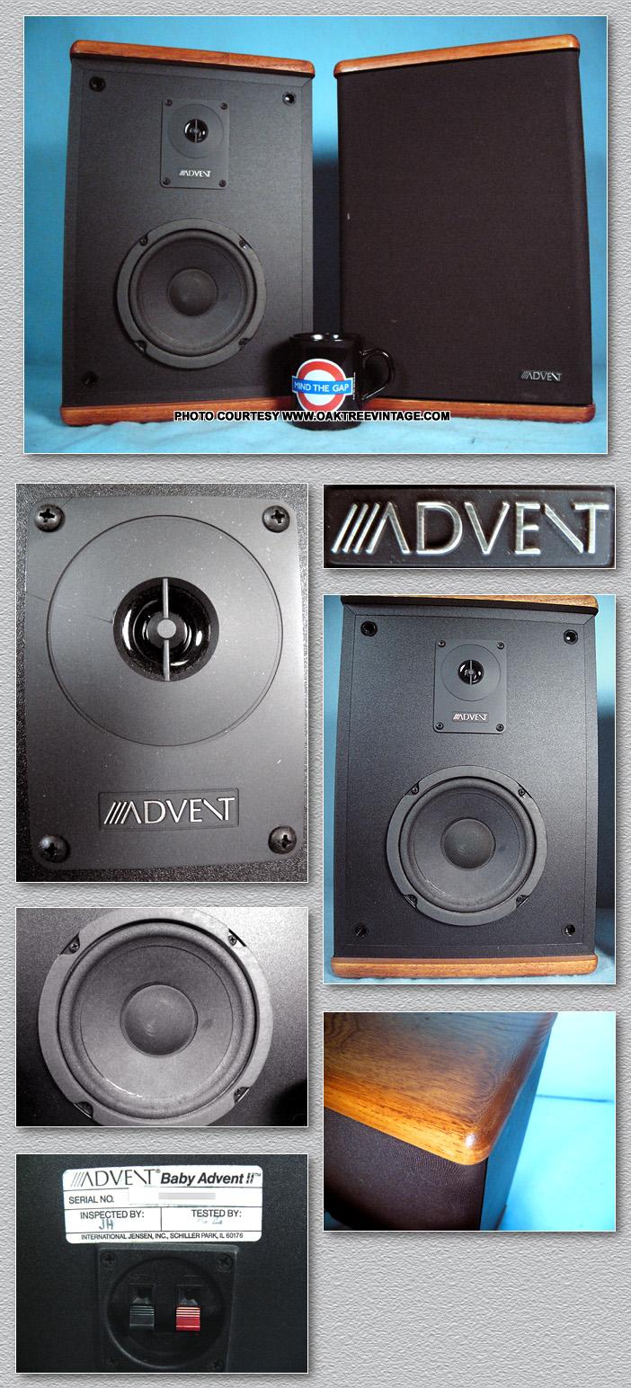 Baby advent 2 speakers