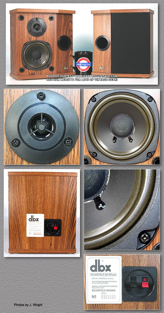 Dbx Soundfield Speaker Parts Spares