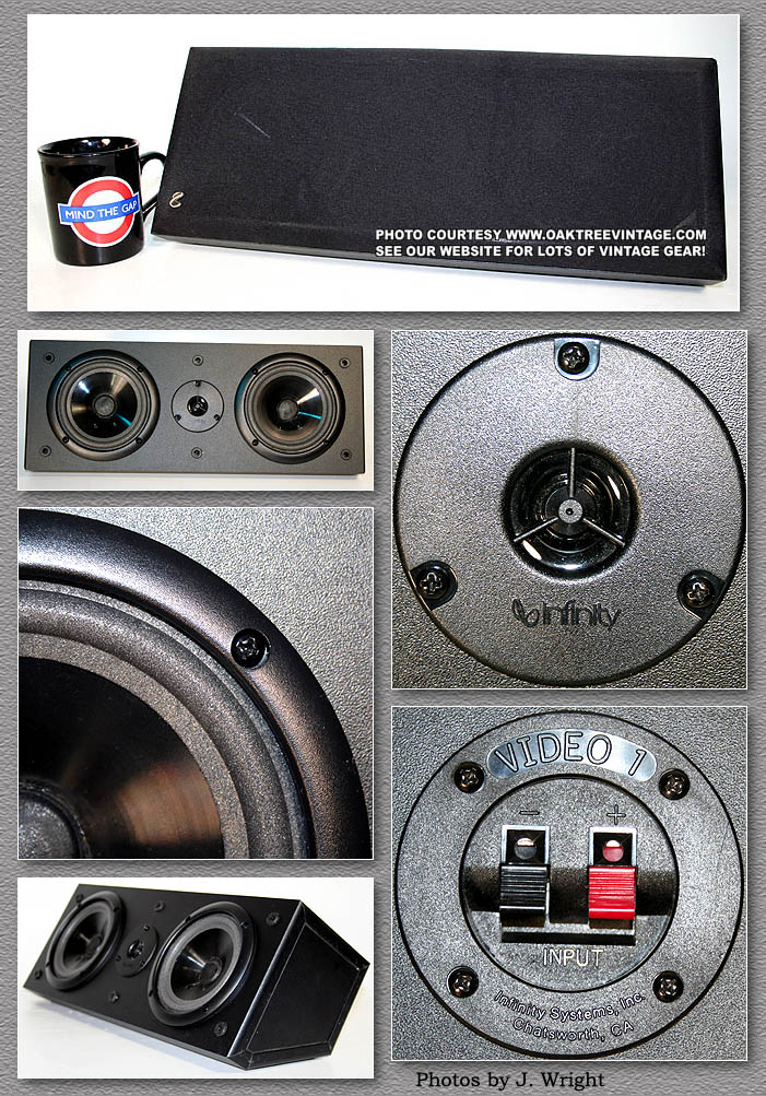 infinity replacement speakers parts spares vintage infinity