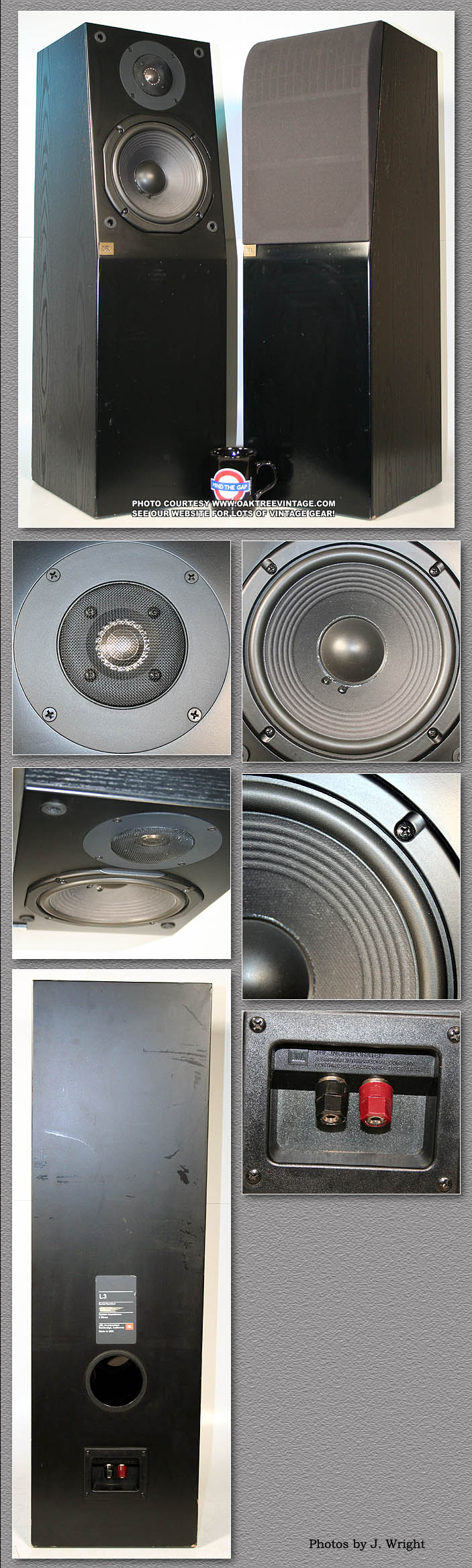 JBL Replacement Speakers drivers & Parts  Used & Vintage