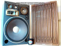 archive vintage classic kenwood trio speakers photo