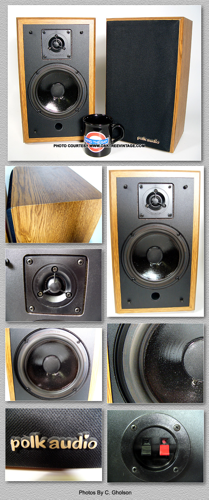 Polk Audio Replacement Speakers Parts Spares For Sale